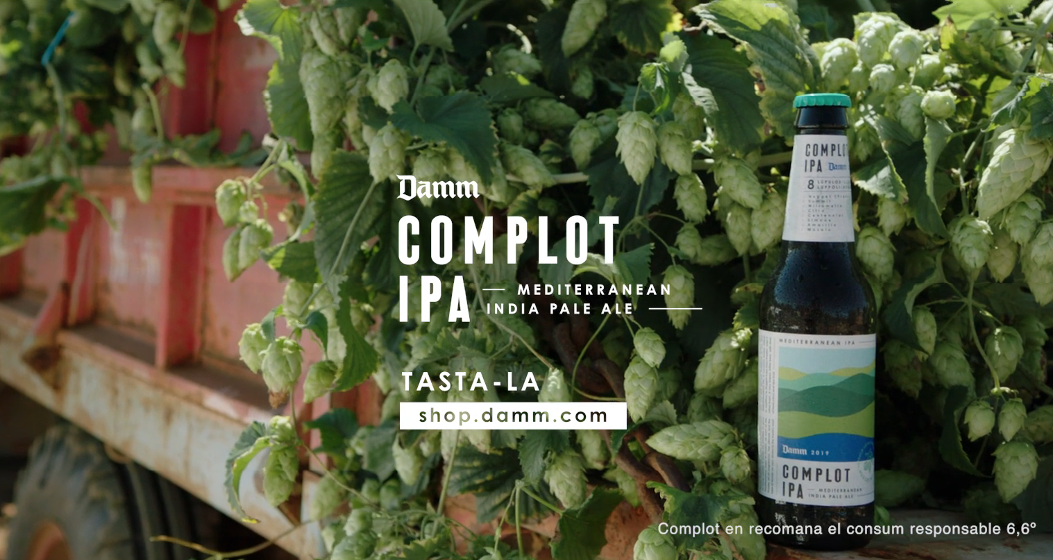 Complot Ipa – Cerveza Damm